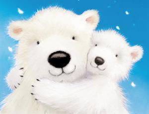 Fluffy Bears IV by Alison Edgson