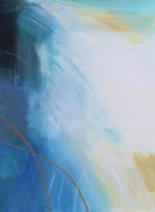 Blue Wash I by Alison Jerry