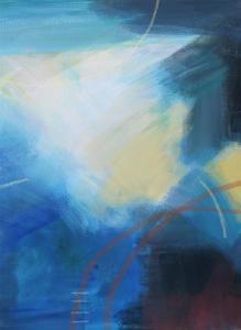 Blue Wash II by Alison Jerry