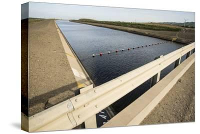 California, Central Valley, Vernalis, Off Rt 132, California Aqueduct