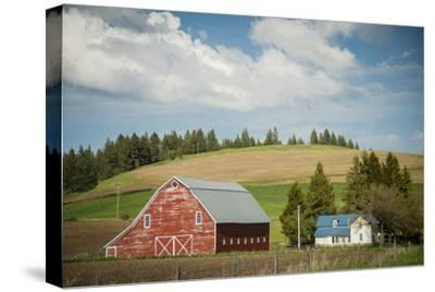 Idaho, Camas Prairie, Keuterville Farm and Barn
