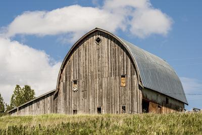 Idaho, Columbia River Basin, Camas Prairie, Old Barn