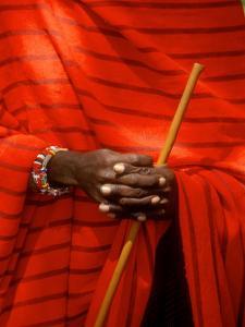 Maasai Teacher, Esetiti Nursery School, Amboseli National Park, Kenya by Alison Jones