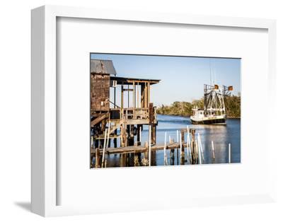 Shrimp Boat, Cocodrie, Terrebonne Parish, Louisiana, USA