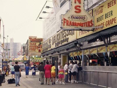 Amusement Park, Coney Island, New York State, USA
