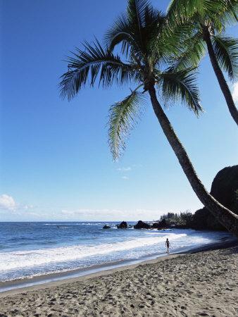 Beach, Hana Coast, Maui, Hawaii, Hawaiian Islands, United States of America, Pacific, North America