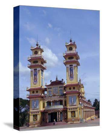 Cao Dai Temple, Synthesis of Three Religions, Confucianism, Vietnam, Indochina