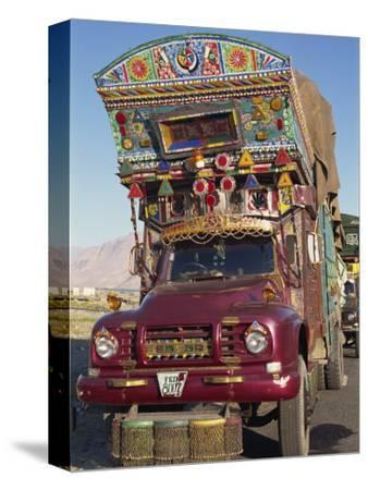 Decorated Truck, Typical of Those on the Karakoram Highway in Pakistan
