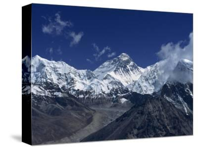 Snow-Capped Mount Everest, Seen from the Nameless Towers, Himalaya Mountains, Nepal