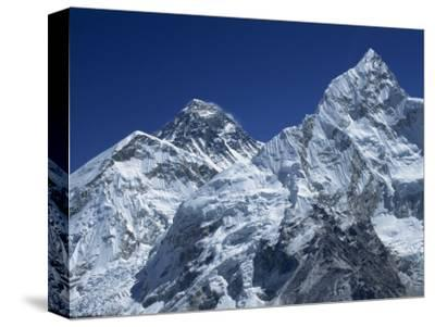 Snow-Capped Peak of Mount Everest, Seen from Kala Pattar, Himalaya Mountains, Nepal