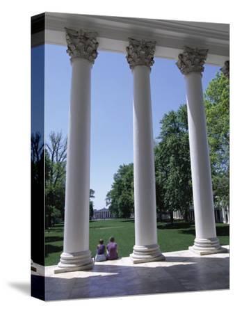 The Rotunda Designed by Thomas Jefferson, University of Virginia, Virginia, USA