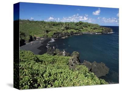 Walanapanapa Beach, Maui, Hawaii, Hawaiian Islands, Pacific, USA