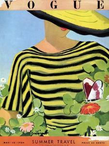Vogue Cover - May 1934 - Glam Gardening by Alix Zeilinger