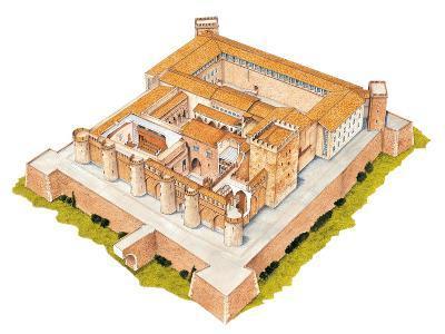 Aljaferia, Zaragoza, Spain, Islamic Palace-Fernando Aznar Cenamor-Giclee Print