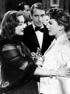 All About Eve, Bette Davis, Gary Merrill, Anne Baxter, 1950, Confrontation
