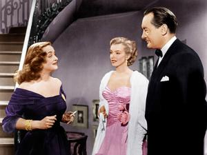 All About Eve, Bette Davis, Marilyn Monroe, George Sanders, 1950