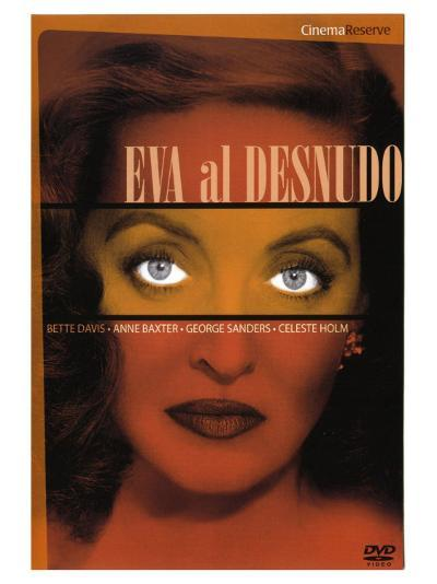 All About Eve, Spanish Movie Poster, 1950--Art Print