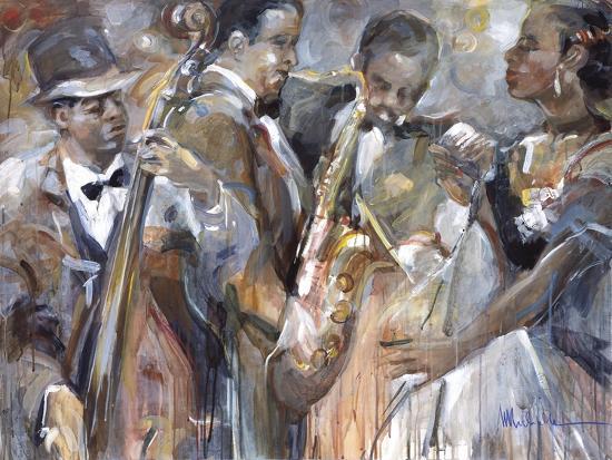 All About Jazz II-Marysia-Premium Giclee Print