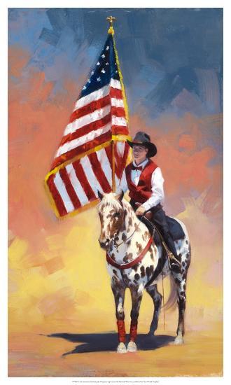 All American-Julie Chapman-Art Print