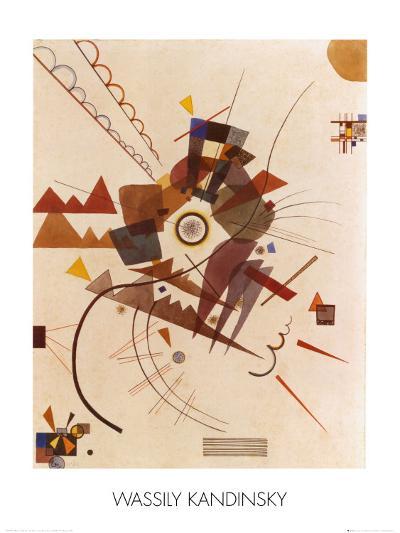 All Around-Wassily Kandinsky-Art Print