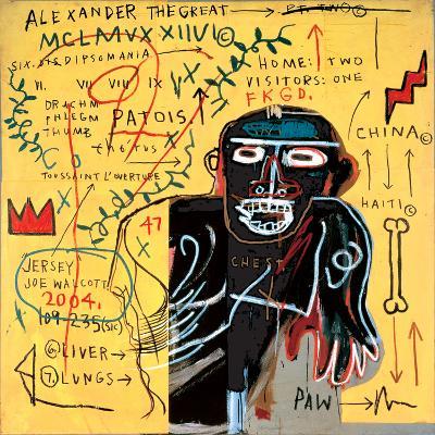 All Coloured Cast (Part Iii)-Jean-Michel Basquiat-Giclee Print