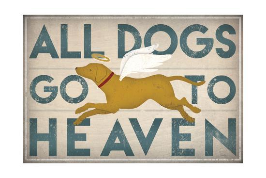 All Dogs Go to Heaven III-Ryan Fowler-Art Print