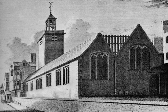 All Hallows Church, London Wall, City of London, c1901 (1906)-Unknown-Giclee Print