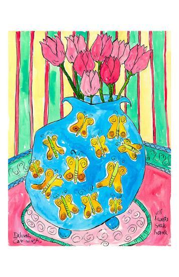 All Hearts Seek Home-Deborah Cavenaugh-Art Print