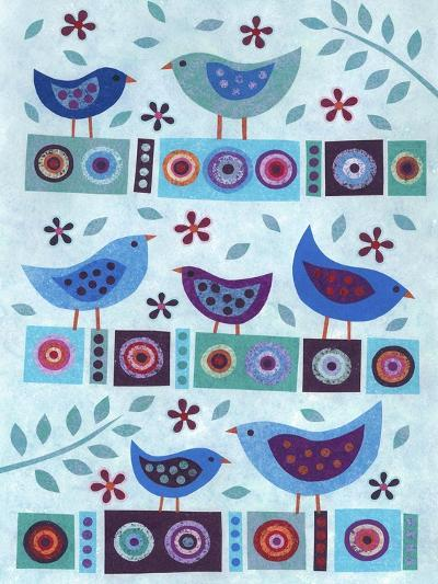 All in a Row-Kim Conway-Art Print