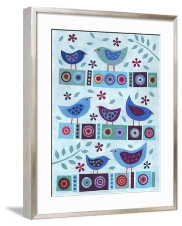 All in a Row-Kim Conway-Framed Art Print