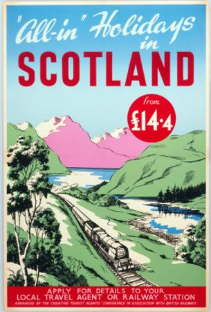 All-In Holidays in Scotland, Creative Tourist Agents Conference/BR, c.1950s