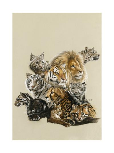 All in the Family-Barbara Keith-Giclee Print