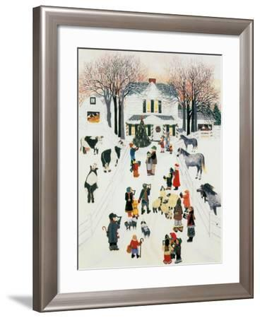 All Is Calm and Brigh-Kristin Nelson-Framed Premium Giclee Print