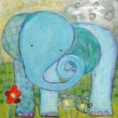 All Is Well Elephant-Wyanne-Giclee Print