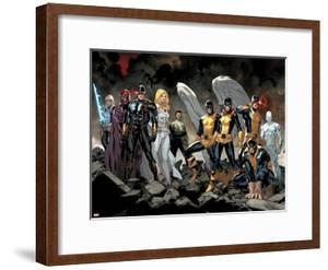 All-New X-Men No. 1: Beast, Grey, Jean, Cyclops, Iceman, Angel, Magneto, Magik, Frost, Emma