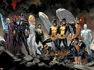 All-New X-Men No. 1: Beast, Grey, Jean, Cyclops, Iceman, Angel, Magneto, Magik, Frost, Emma