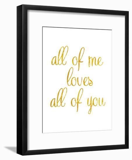 All of Me-Miyo Amori-Framed Premium Giclee Print