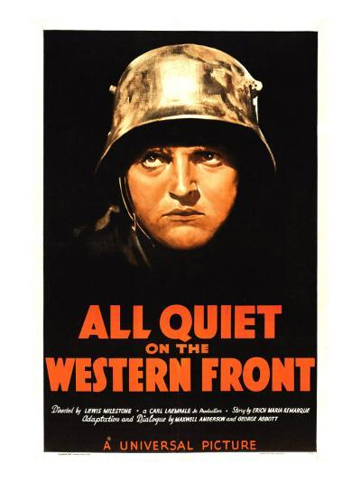 All Quiet on the Western Front, Lew Ayres, 1930--Photo
