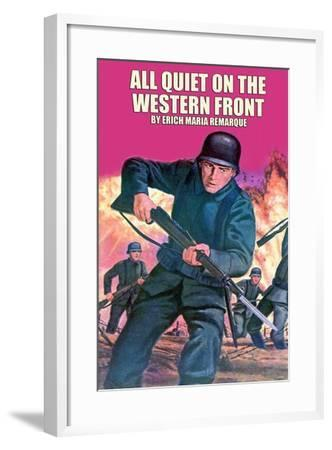 All Quiet On The Western Front--Framed Art Print