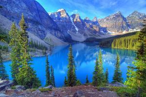 Moraine Lake, Banff, Rocky Mountain, Canada by All Rights By Krishna.Wu