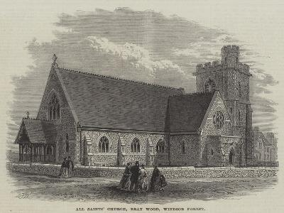 All Saints' Church, Bray Wood, Windsor Forest-Frank Watkins-Giclee Print