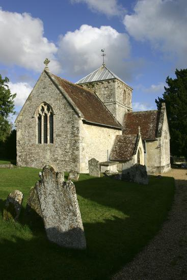 All Saints Church, Fonthill Bishop, Wiltshire, 2005-Peter Thompson-Photographic Print