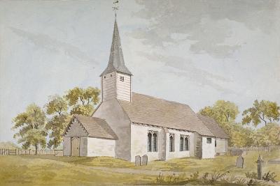 All Saints Church, Foots Cray, Kent, 1790--Giclee Print