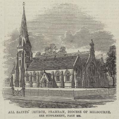 All Saints' Church, Prahran, Diocese of Melbourne--Giclee Print