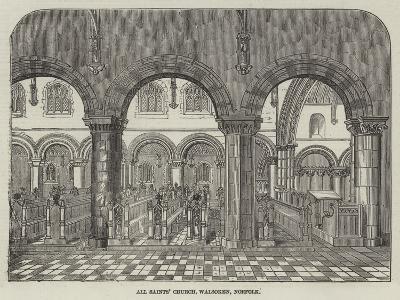 All Saints' Church, Walsoken, Norfolk--Giclee Print
