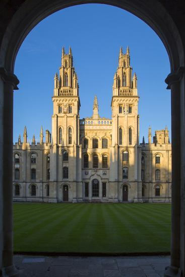 All Souls College, Oxford, Oxfordshire, England-Brian Jannsen-Photographic Print