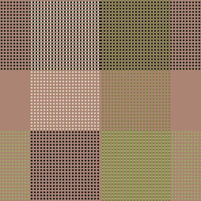 All Squared Away II-Ruth Palmer-Art Print