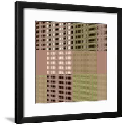 All Squared Away II-Ruth Palmer-Framed Art Print