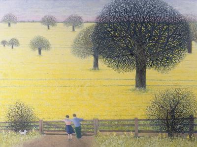All That Yellow-Pat Scott-Giclee Print