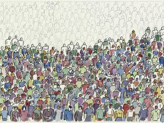 All These People-Diana Ong-Giclee Print